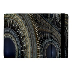 Fractal Spikes Gears Abstract Samsung Galaxy Tab Pro 10 1  Flip Case