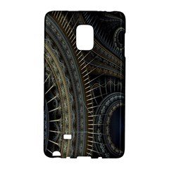 Fractal Spikes Gears Abstract Galaxy Note Edge
