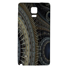 Fractal Spikes Gears Abstract Galaxy Note 4 Back Case