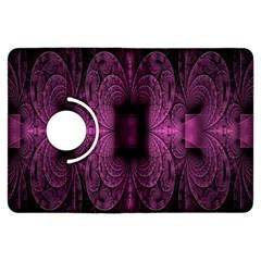 Fractal Magenta Pattern Geometry Kindle Fire Hdx Flip 360 Case
