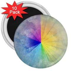 Abstract Art Modern 3  Magnets (10 Pack)