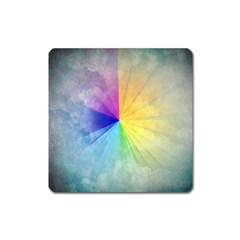 Abstract Art Modern Square Magnet