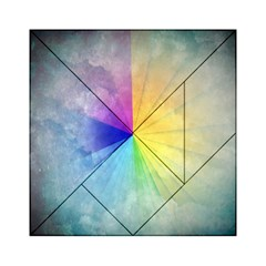 Abstract Art Modern Acrylic Tangram Puzzle (6  X 6 )