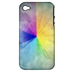 Abstract Art Modern Apple Iphone 4/4s Hardshell Case (pc+silicone)