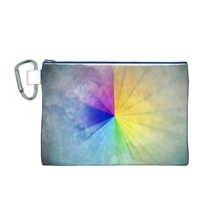 Abstract Art Modern Canvas Cosmetic Bag (m)