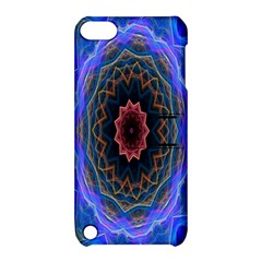 Cosmic Flower Kaleidoscope Art Apple Ipod Touch 5 Hardshell Case With Stand