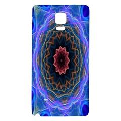 Cosmic Flower Kaleidoscope Art Galaxy Note 4 Back Case