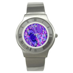Fractal Fantasy Creative Futuristic Stainless Steel Watch