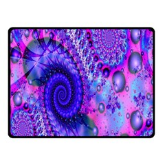 Fractal Fantasy Creative Futuristic Fleece Blanket (small)