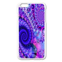 Fractal Fantasy Creative Futuristic Apple Iphone 6 Plus/6s Plus Enamel White Case