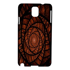 Fractal Red Brown Glass Fantasy Samsung Galaxy Note 3 N9005 Hardshell Case