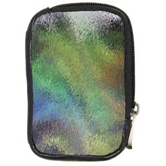 Frosted Glass Background Psychedelic Compact Camera Cases