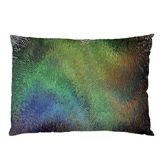 Frosted Glass Background Psychedelic Pillow Case (two Sides)