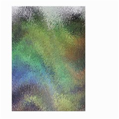 Frosted Glass Background Psychedelic Large Garden Flag (two Sides)