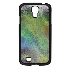 Frosted Glass Background Psychedelic Samsung Galaxy S4 I9500/ I9505 Case (black)