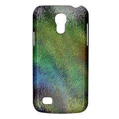 Frosted Glass Background Psychedelic Galaxy S4 Mini