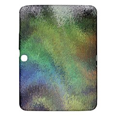 Frosted Glass Background Psychedelic Samsung Galaxy Tab 3 (10 1 ) P5200 Hardshell Case