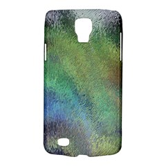 Frosted Glass Background Psychedelic Galaxy S4 Active