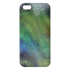 Frosted Glass Background Psychedelic Iphone 5s/ Se Premium Hardshell Case