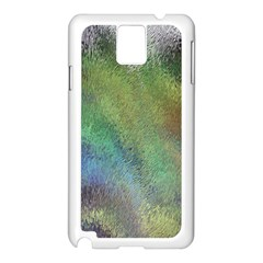Frosted Glass Background Psychedelic Samsung Galaxy Note 3 N9005 Case (white)
