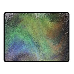 Frosted Glass Background Psychedelic Double Sided Fleece Blanket (small)