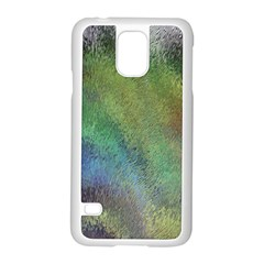 Frosted Glass Background Psychedelic Samsung Galaxy S5 Case (white)