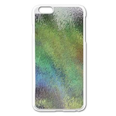 Frosted Glass Background Psychedelic Apple Iphone 6 Plus/6s Plus Enamel White Case