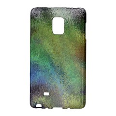 Frosted Glass Background Psychedelic Galaxy Note Edge