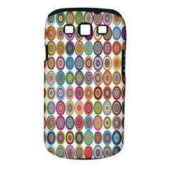 Decorative Ornamental Concentric Samsung Galaxy S Iii Classic Hardshell Case (pc+silicone)