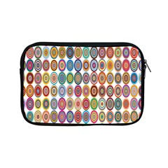 Decorative Ornamental Concentric Apple Ipad Mini Zipper Cases