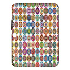 Decorative Ornamental Concentric Samsung Galaxy Tab 3 (10 1 ) P5200 Hardshell Case