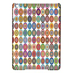 Decorative Ornamental Concentric Ipad Air Hardshell Cases