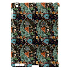 Pattern Background Fish Wallpaper Apple Ipad 3/4 Hardshell Case (compatible With Smart Cover)