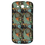 Pattern Background Fish Wallpaper Samsung Galaxy S3 S III Classic Hardshell Back Case Front