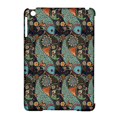 Pattern Background Fish Wallpaper Apple Ipad Mini Hardshell Case (compatible With Smart Cover)