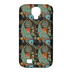 Pattern Background Fish Wallpaper Samsung Galaxy S4 Classic Hardshell Case (pc+silicone)
