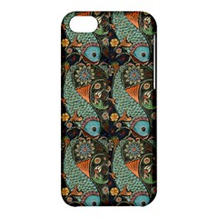 Pattern Background Fish Wallpaper Apple Iphone 5c Hardshell Case