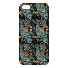 Pattern Background Fish Wallpaper Iphone 5s/ Se Premium Hardshell Case