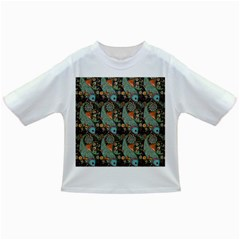 Pattern Background Fish Wallpaper Infant/toddler T Shirts