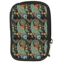 Pattern Background Fish Wallpaper Compact Camera Cases