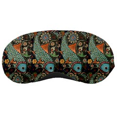 Pattern Background Fish Wallpaper Sleeping Masks