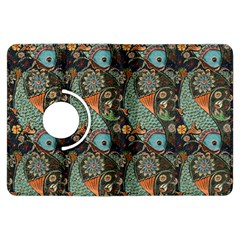 Pattern Background Fish Wallpaper Kindle Fire Hdx Flip 360 Case