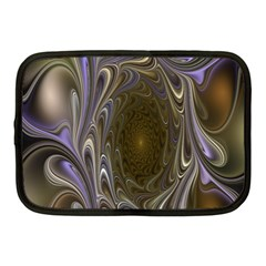Fractal Waves Whirls Modern Netbook Case (medium)