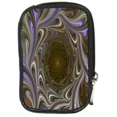 Fractal Waves Whirls Modern Compact Camera Cases