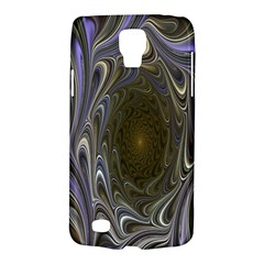 Fractal Waves Whirls Modern Galaxy S4 Active