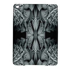 Fractal Blue Lace Texture Pattern Ipad Air 2 Hardshell Cases