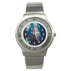 Architecture Skyscraper Stainless Steel Watch