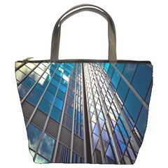 Architecture Skyscraper Bucket Bags