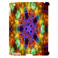 Kaleidoscope Pattern Ornament Apple Ipad 3/4 Hardshell Case (compatible With Smart Cover)