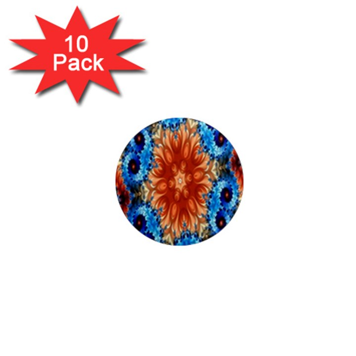 Alchemy Kaleidoscope Pattern 1  Mini Magnet (10 pack)